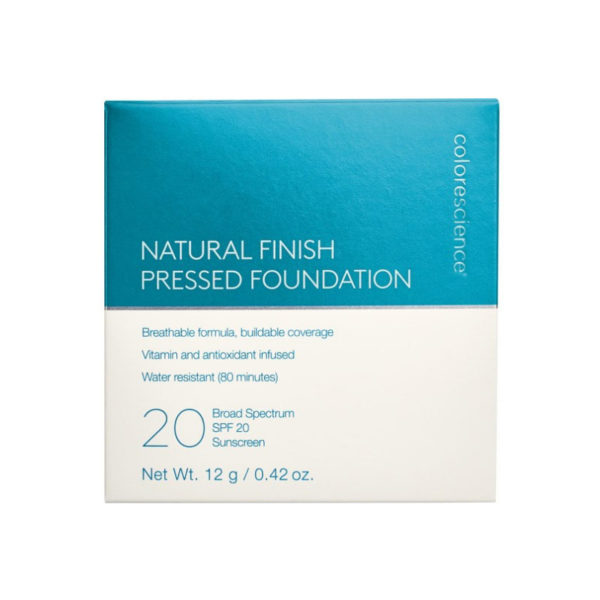 Natural Finish Pressed Foundation| Пресованная пудра SPF 20